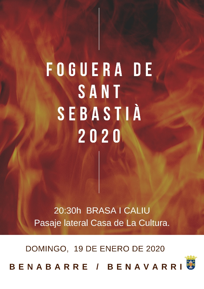 TRADICIONAL FOGUERA DE SANT SEBASTIÀ